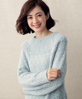 【マガジン掲載】ロービングスラブ ニット(検索番号K28)