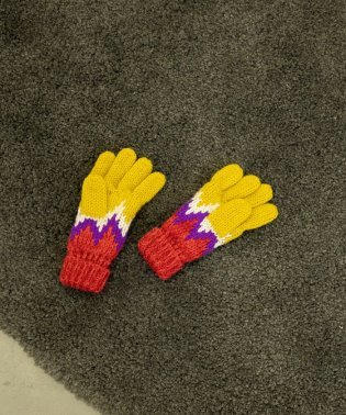【coen キッズ / ジュニア】ジャカードグローブ(手袋)