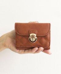 Legato Largo キルティング 三つ折りミニ財布