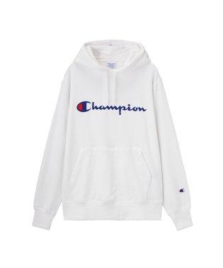 Champion チャンピオン ロゴフードスウェット C3-Q102