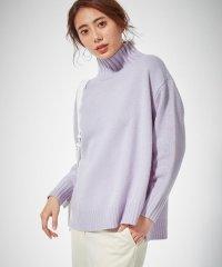 【2019冬のWEB限定カラー】Soft Cashmere Mix ハイネックニ
