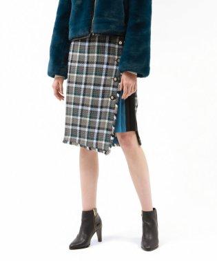 ◆◆【BONOTTO】ツィード チェック スカート