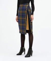 【BONOTTO】ツィード チェック スカート