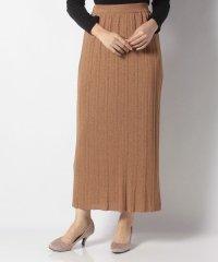 ラメニットスカート