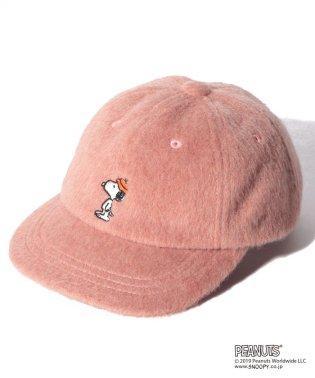 【PEANUTSコラボ】 スヌーピー刺しゅうキャップ