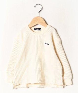 ワンポイントロゴワッフルTシャツ