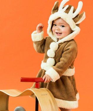 クリスマスもこもこロンパース / ワンピース