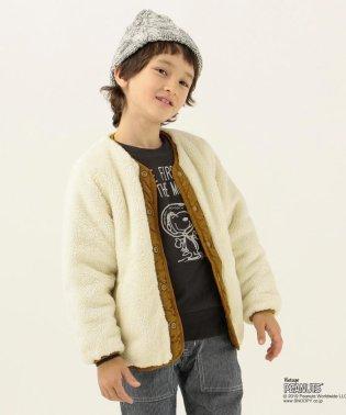 SHIPS KIDS:ボア×キルト リバーシブル ジャケット(100~130cm)