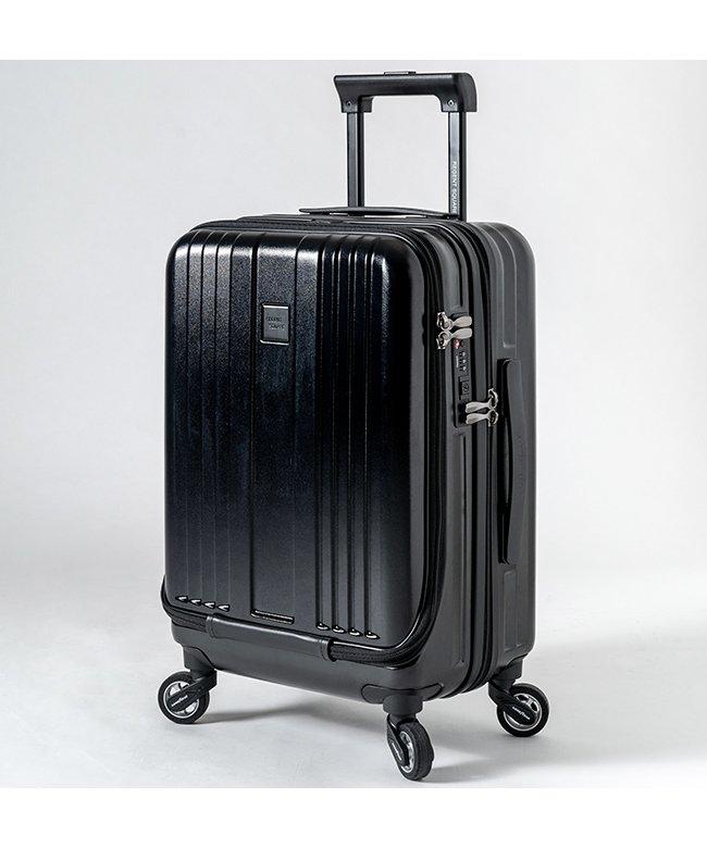 (Regent Square/リージェントスクエア)リージェントスクエア スーツケース 機内持ち込み フロントオープン 軽量 Sサイズ 39L キャスター交換/ユニセックス ブラック