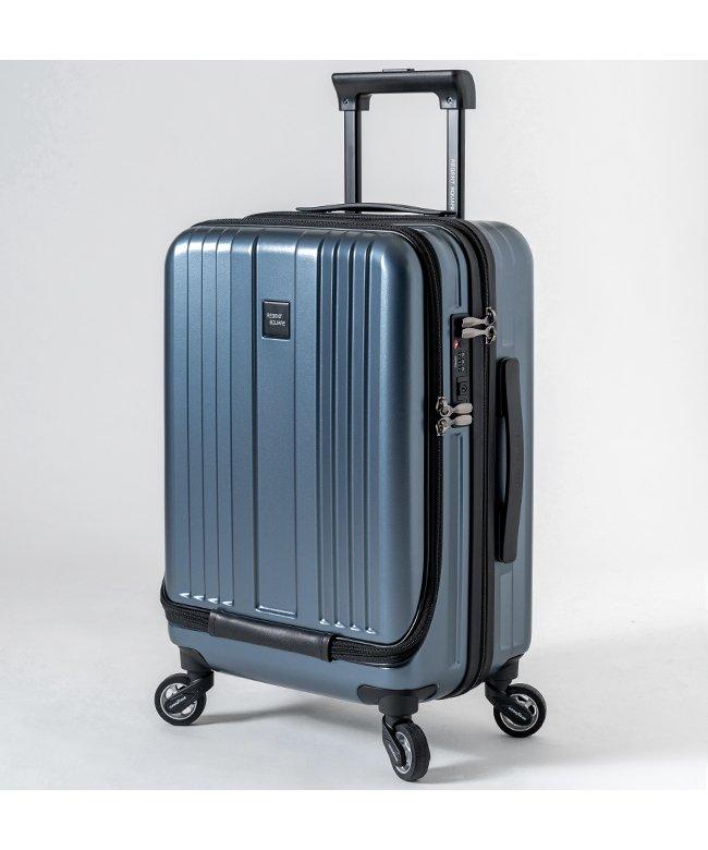 (Regent Square/リージェントスクエア)リージェントスクエア スーツケース 機内持ち込み フロントオープン 軽量 Sサイズ 39L キャスター交換/ユニセックス ネイビー