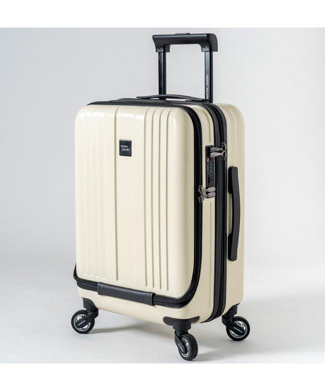 (Regent Square/リージェントスクエア)リージェントスクエア スーツケース 機内持ち込み フロントオープン 軽量 Sサイズ 39L キャスター交換/ユニセックス ホワイト