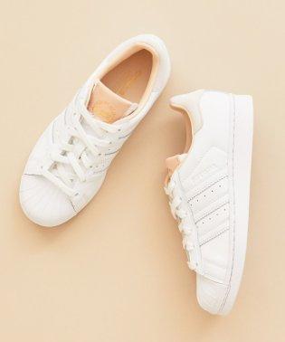 <adidas Originals(アディダス)>SUPERSTAR スーパースター レザースニーカー/WHITE