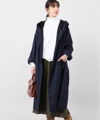 【SOIL/ソイル】HOODED LONG COAT WITH BELT:コート