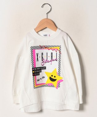 90Sロゴ×キラッキープリントTシャツ