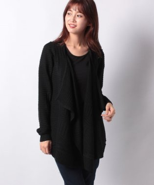 WOMAN FLAT KNIT THIN GAUGE JACKET
