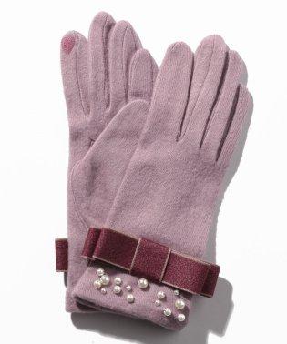 リボンデザイン手袋