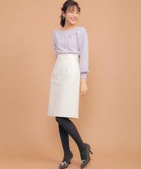 カラーツイードタイトスカート