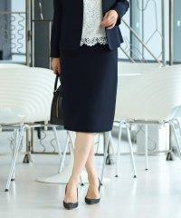Demi-Luxe BEAMS / ダブルクロス セミタイトスカート 20FO