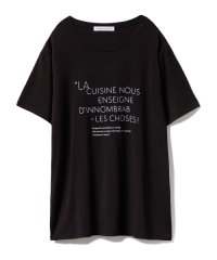 【Joel Robuchon & gelato pique】ロゴTシャツ