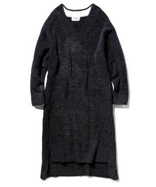 【Joel Robuchon & gelato pique】 'カシミヤMIXスムーズィー'ドレス