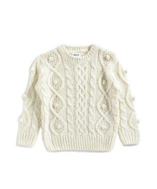 ポコポコニットセーター