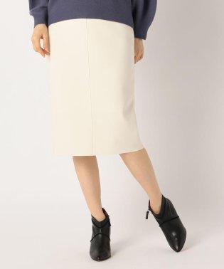 [新色追加]ニットジョーゼットタイトスカート