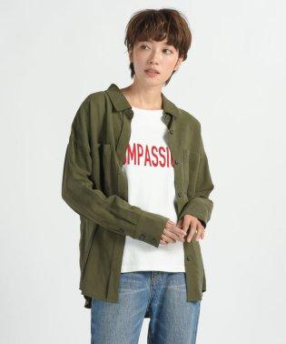 【Willful by lipstar】ツイルシャツ