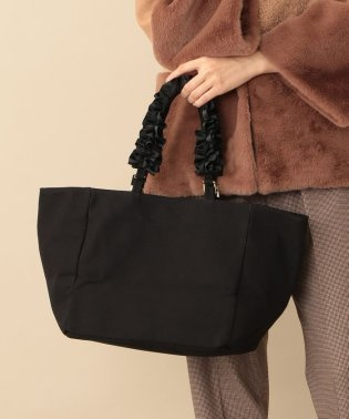 【CACHELLIE】FRILL 2WAY TOTE(CANVAS)