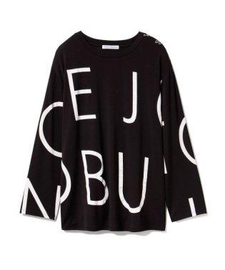 【Joel Robuchon & gelato pique】 HOMME ロゴロングスリーブTシャツ