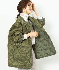 キルティングビッグジャケット(コート/アウター/中綿)