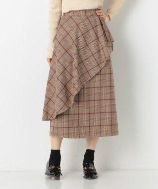 A-ラッフルロングスカート