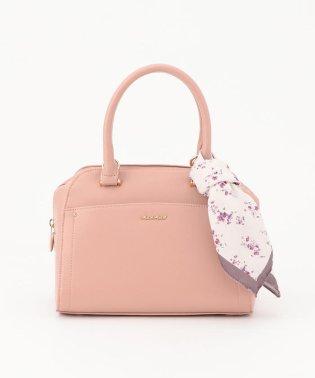 【美人百花12月号掲載】花柄スカーフ付きボストンバッグ