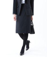【セットアップ対応】【美Skirt】トロストライプストレッチスカート