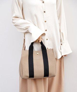 【MAGASEEK/d fashion別注】スウェード風ショルダーバッグ