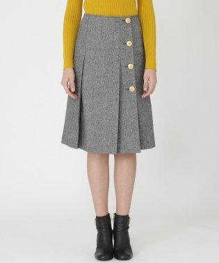 ソフトギャバ/ホームスパンツイードスカート
