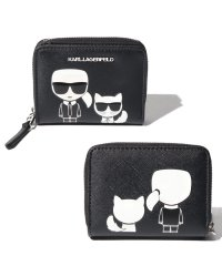 Karl Lagerfeld 96KW3233 A999 ラウンドファスナー財布