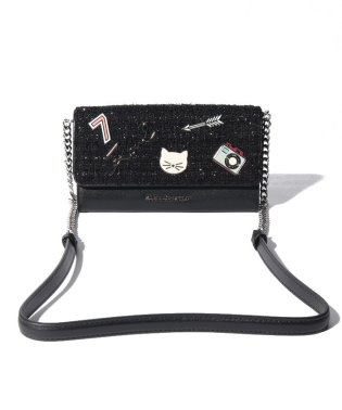 Karl Lagerfeld 96KW3222 A999 チェーンウォレット