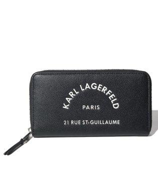 Karl Lagerfeld 96KW3217 A999 ラウンドファスナー長財布