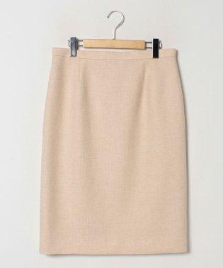 【大きいサイズ】【セットアップ対応】ウールツイード/タイトスカート