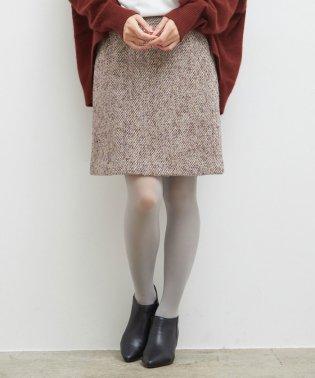 ファンシーツイードスカート
