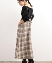 【WEB限定】バックリボンジャンパースカート