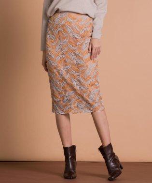 ファンシーワークレースタイトスカート