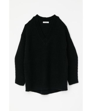 V NECK LOOSE KNIT トップス
