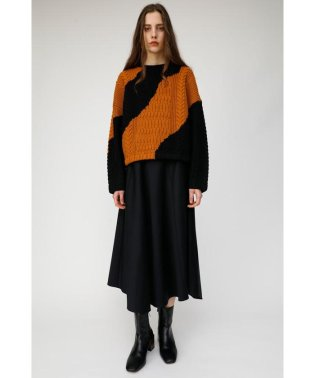 SATIN LONG スカート