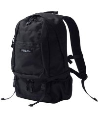 MILKFED ミルクフェド big backpack bar 2 リュック バックパック レディース 通勤 通学 ナイロン ボックスロゴ ストリート カジュア