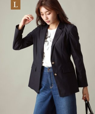 【L】ツイルジャージジャケット