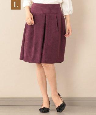 【L】ピーチスエードスカート