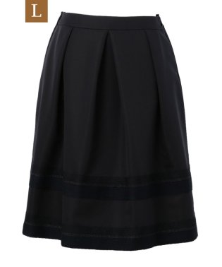 【L】シャイニーグログランスカート