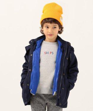 SHIPS KIDS:3WAY モッズコート(100~130cm)