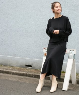 【WEB限定】レイヤードニットセットアップワンピース